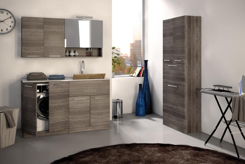 Urban lavanderia legnobagno bagno mobili da bagno - Bagno lavanderia ...
