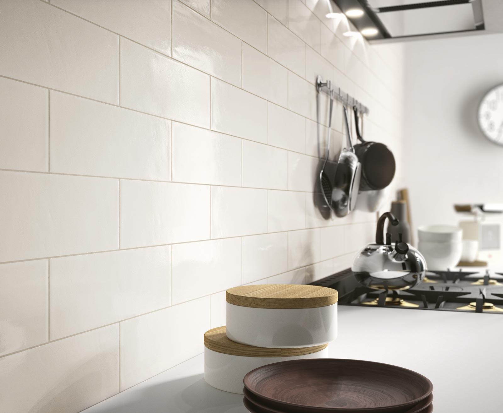 Brick glossy ceramiche ragno: rivestimenti gres porcellanato e ceramica