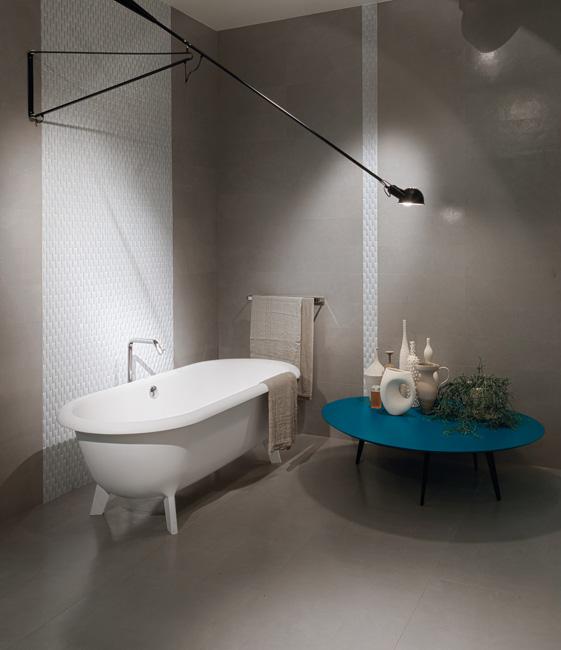 Concept ceramica sant 39 agostino pavimenti effetto resina - Rivestimento bagno resina ...