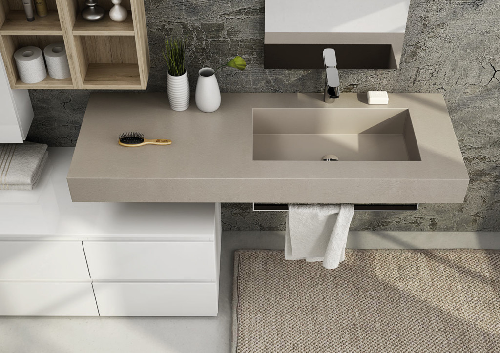 Freedom legnobagno bagno mobili da bagno - Resina per mobili ...