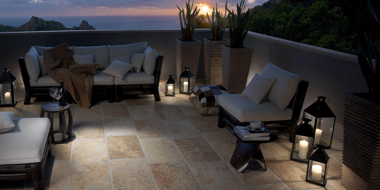 I sassi cooperativa ceramiche d 39 imola terrazzi e giardini for Ceramiche di imola