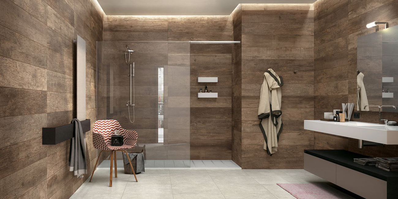 Rivestimenti Bagno Ultima Moda : Moda rivestimento bagno in legno nd pineglen