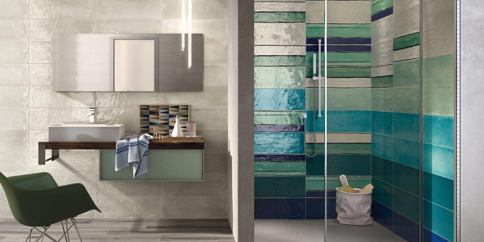 Shades cooperativa ceramiche d 39 imola rivestimenti gres - Ceramiche bagno moderno ...