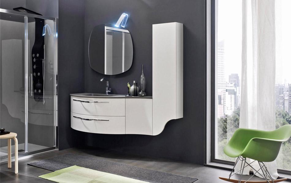 Start round ardeco bagno mobili da bagno for Mobili arredo