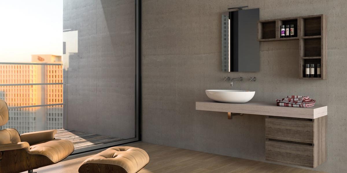 Urban componibile legnobagno bagno mobili da bagno for Mobili componibili per bagno