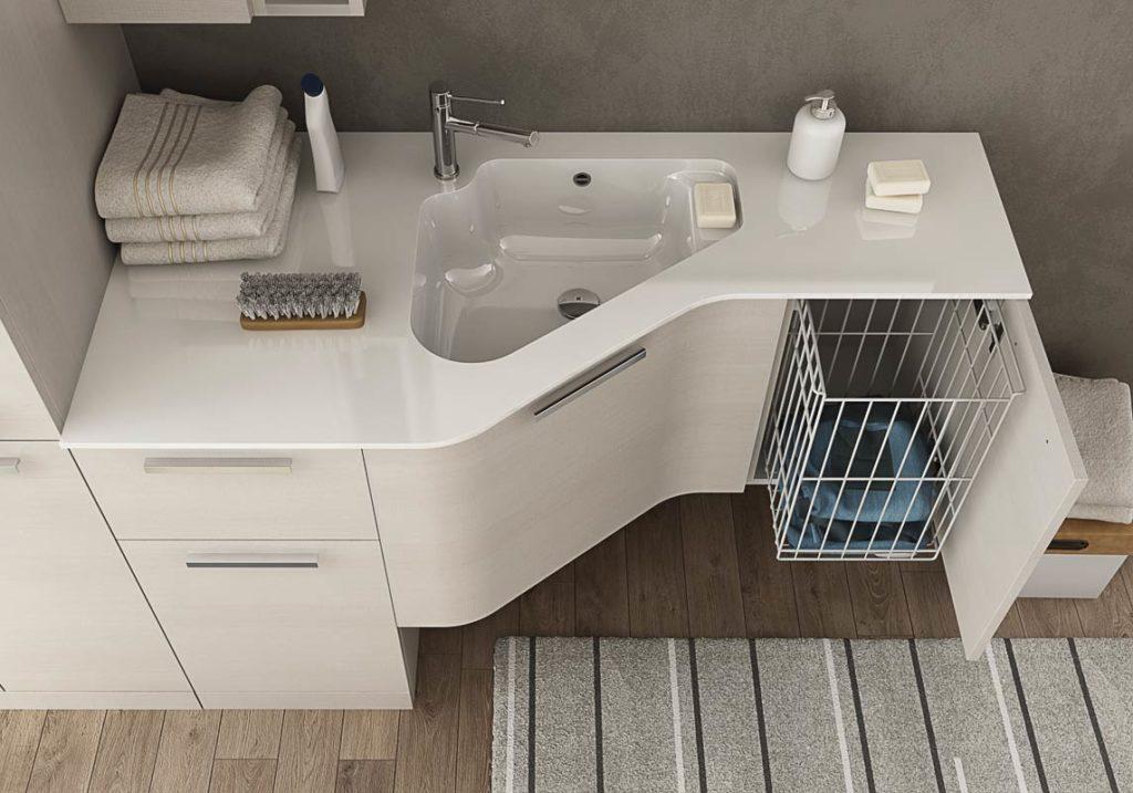 Urban lavanderia legnobagno bagno mobili da bagno - Lavanderia in bagno ...